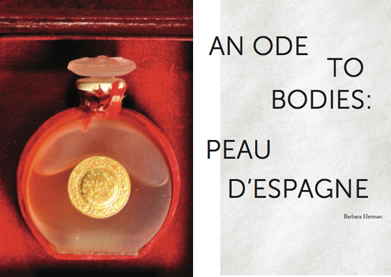 "writing barbara herman my essay ""an ode to bodies"" in the state s issue vol iii the social olfactory ""perfume is a discourse on the human body like fashion it asks"
